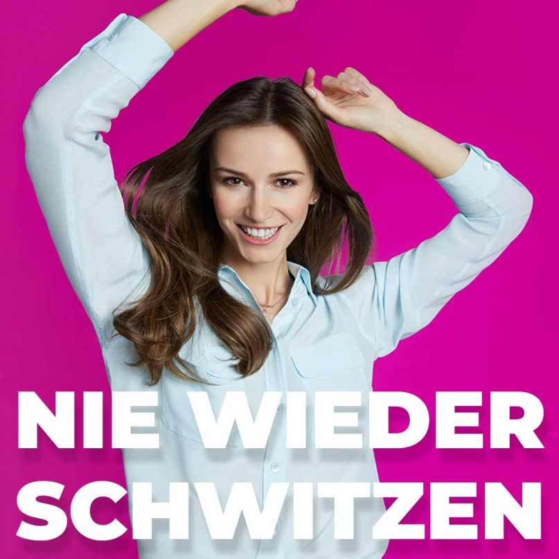 miraDry Achselschweiß-Behandlung Hannover Hyperhidrose